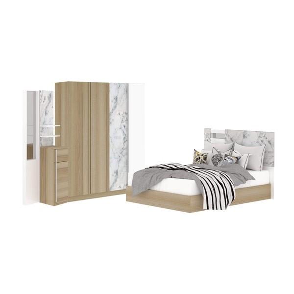 ชุดห้องนอน ขนาด 5 ฟุต รุ่น Marzera