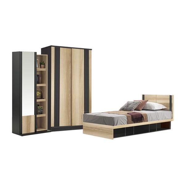 ชุดห้องนอน ขนาด 3.5 ฟุต รุ่น Patinal