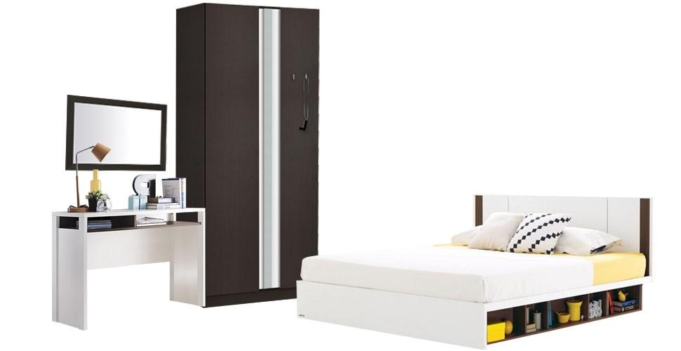 Patinal เตียง 5' สีเวงเก้
