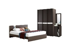 Bedroom/Tyler6'&Meudon134/Wenge-White
