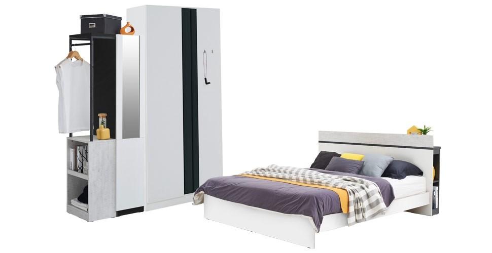 Tanocz ชุดห้องนอน สีขาว