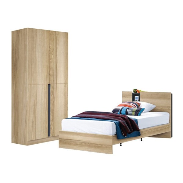 Tyler ชุดห้องนอน LINDBERG OAK Modern