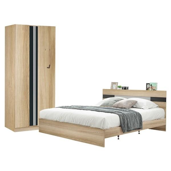 ชุดห้องนอน ขนาด 6 ฟุต รุ่น Harper