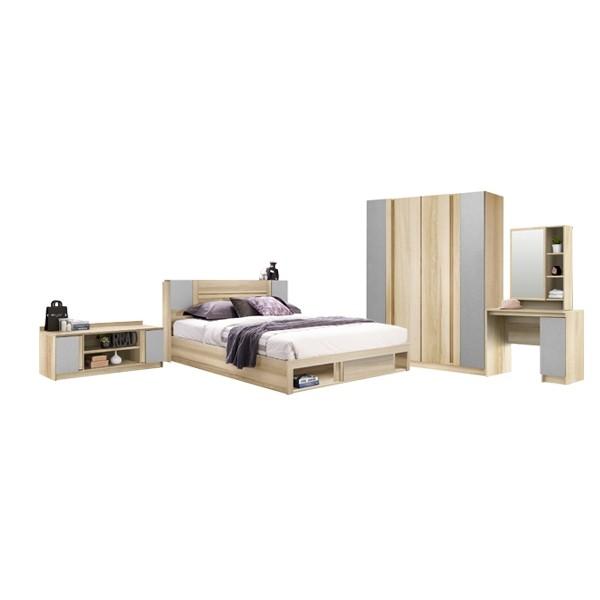 ชุดห้องนอน ขนาด 6 ฟุต รุ่น Monteo