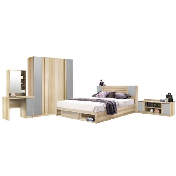 ชุดห้องนอน ขนาด 5 ฟุต รุ่น Monteo