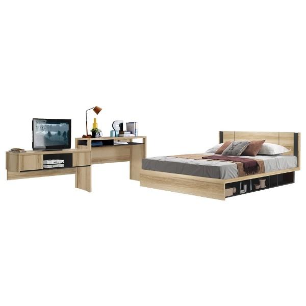 Bedroom/Patinal5'&WS134/Lindberg Oak