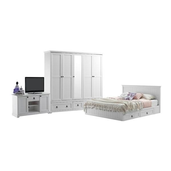 Bedroom/Melona6'&WV221&TV120/White