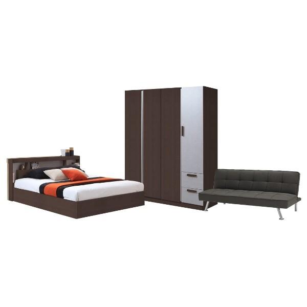 Bedroom/MORITZ5'&WF160&MINLY#2/Wenge
