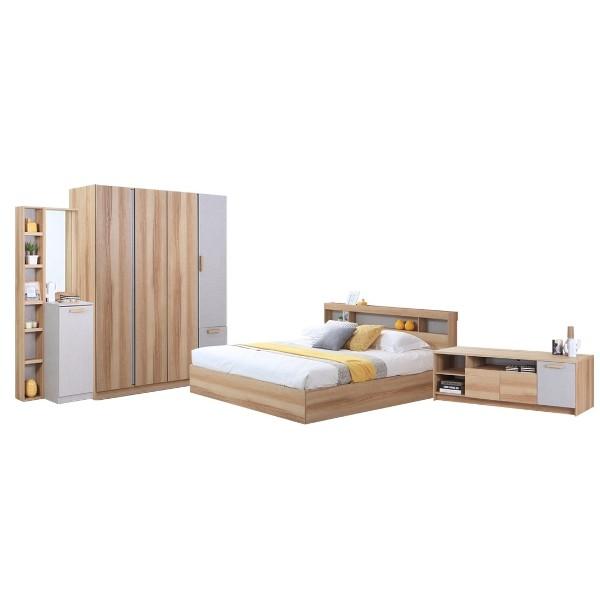 ชุดห้องนอน ขนาด 5 ฟุต รุ่น Moritz