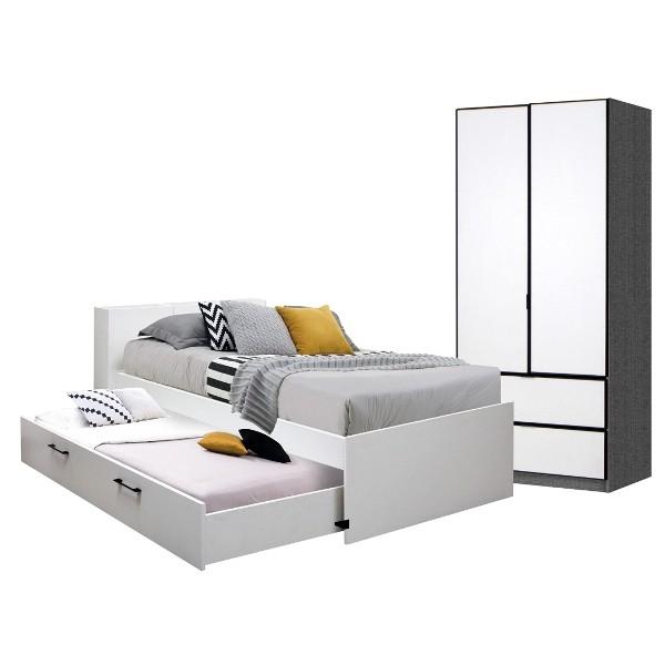 Bedroom/Studeo3.5'&Paris90-2DW/WH-Glinen
