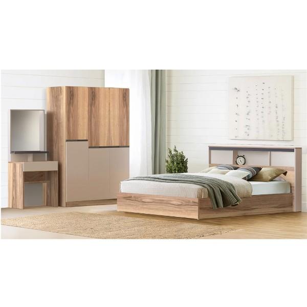Bedroom/Spender6'&WO135/Lindberg Oak