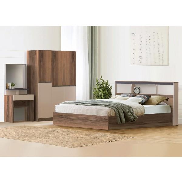 Bedroom/Spender6'&WO135/Autumn Brown