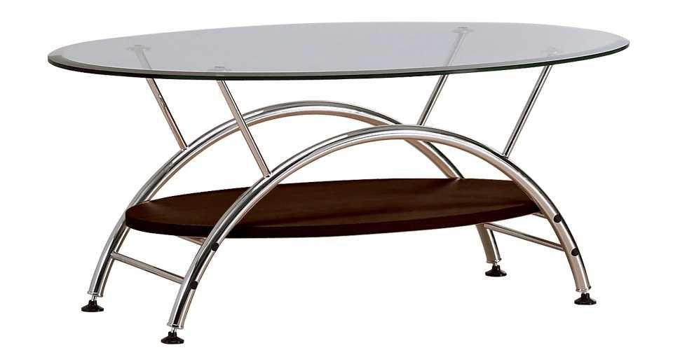 Haben โต๊ะกลาง สีโครเมียม ขนาด 60 ซ.ม. สไตล์คอนเทมโพรารี