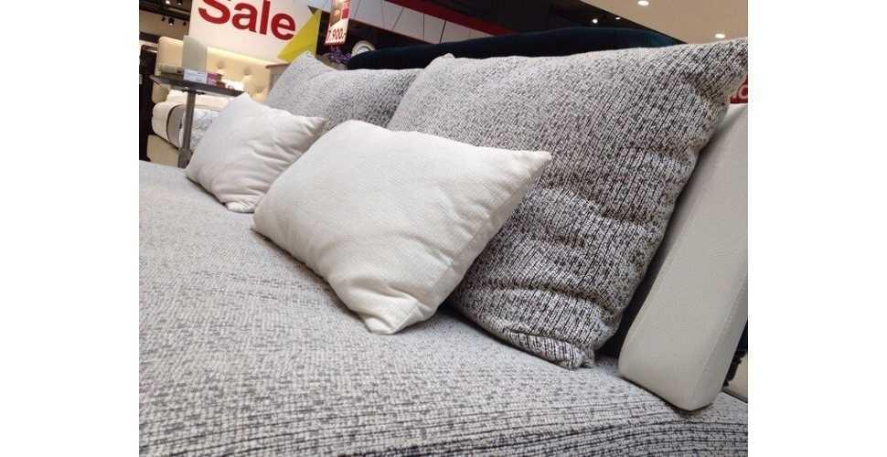 Jelly โซฟาผ้า สีขาว ขนาด 199 ซ.ม. สไตล์โมเดิร์น