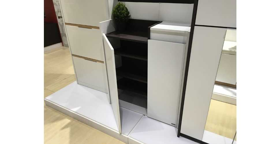 Urbani ตู้เก็บของ สีขาว ขนาด 80 ซ.ม.