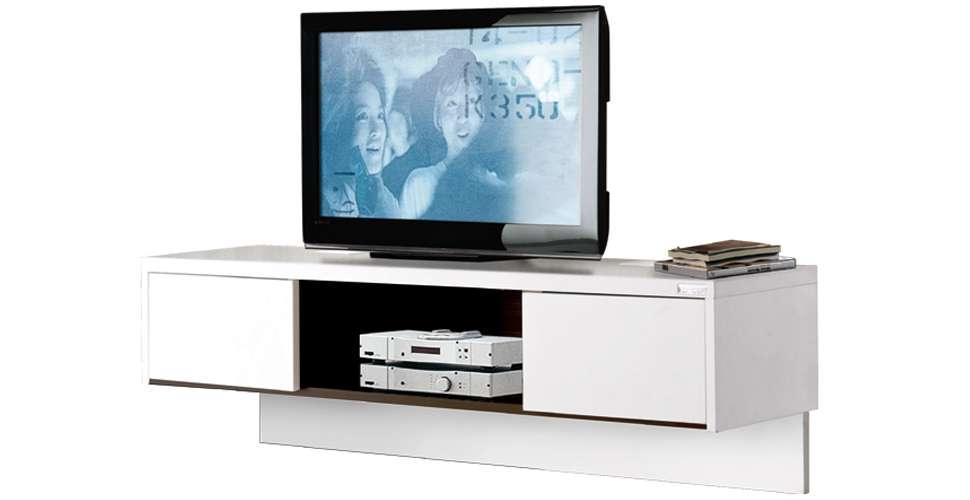 Urbani ชุดวางทีวี สีขาว ขนาด 120 ซ.ม. สไตล์โมเดิร์น