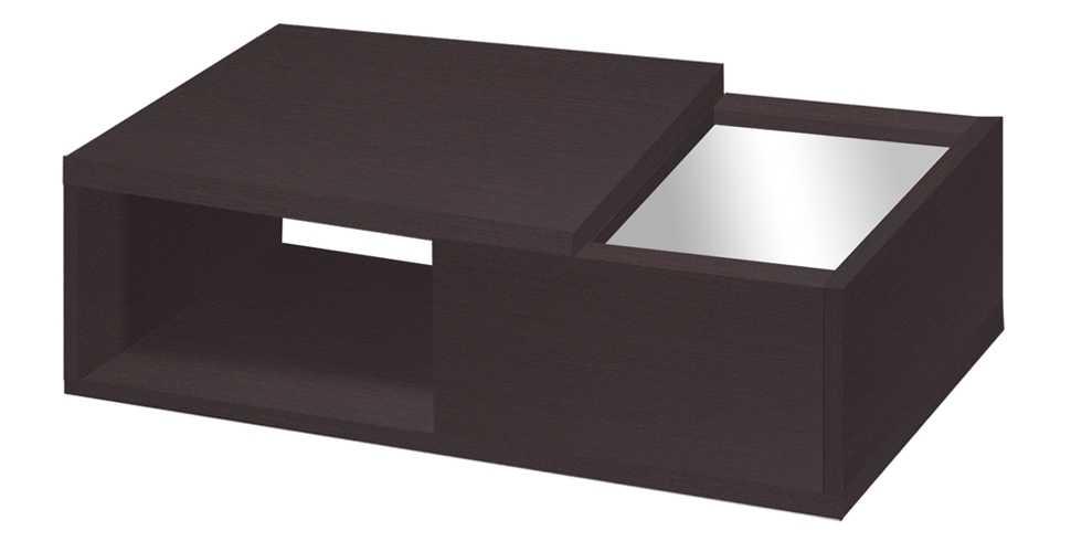 Penny โต๊ะกลาง สีเวงเก้ ขนาด 90 ซ.ม. สไตล์คอนเทมโพรารี