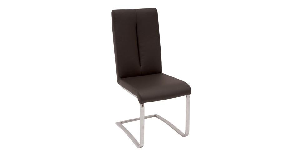 Hoop เก้าอี้ทานอาหาร สีน้ำตาล ขนาด 43 ซ.ม. สไตล์โมเดิร์น