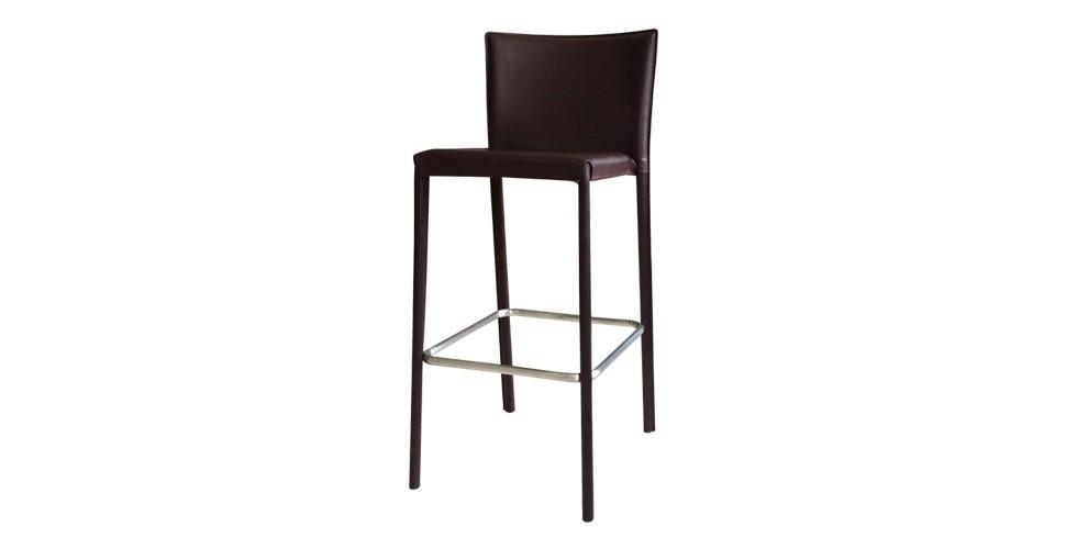 เก้าอี้  สตูลบาร์เหล็กเบาะหนัง รุ่น Yaimai