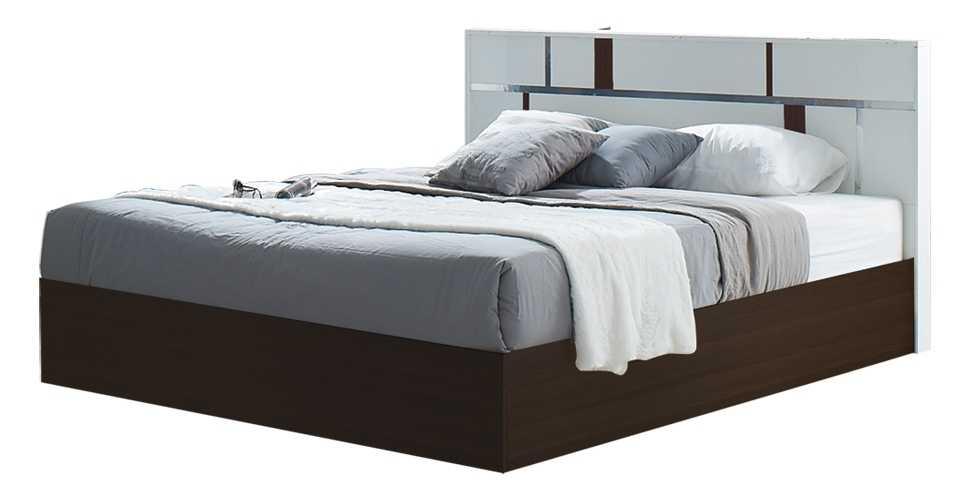 Noz เตียง 6 ฟุต สีขาว สไตล์โมเดิร์น