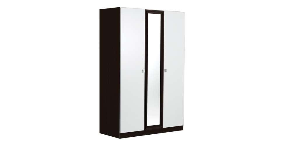 Noz ตู้เสื้อผ้าบานเปิด สีขาว สไตล์โมเดิร์น