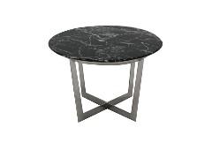 โต๊ะข้างเหล็กท๊อปหิน